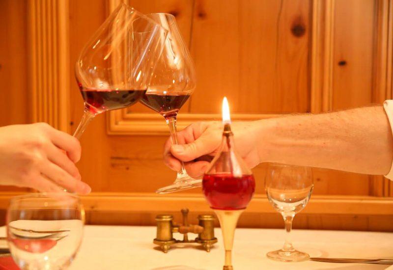 Wechselnde Weinkarte